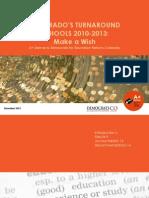 Colorado's Turnaround Schools 2010-2013