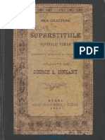 Credinte Si Superstitii