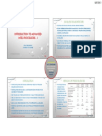 P31 Introduction to Advanced Intel Processors I