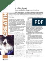 Curiosity Killed the Cat (FREE pdf)
