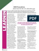 Obama, fix the US education gap (FREE pdf)