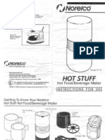 NorelcoHotStuffManual