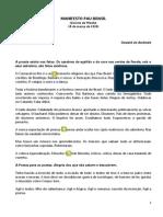 Manifesto Pau Brasil