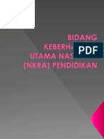NKRA (Bidang Keberhasilan Utama Negara)