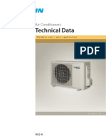 Daikin Rxs-k - Technical Data