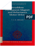 K.J.millER (Brushless Permanent Magnet and Reluctance Motor Drives)