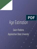 Age Estimation in Fetus