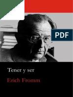 Tener y Ser Erich Fromm