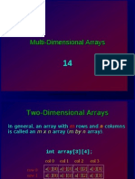 14 ES26 Lab - Multi-Dimensional Arrays