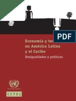Economia y Territorio en AL y El Caribe - CEPAL