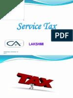 Service Tax Basics - HMV