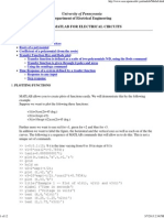 Matlab for Electric Circuits