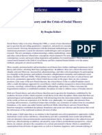 Critical Theory and the Crisis of Social Theory