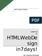Web Design in 7 Days
