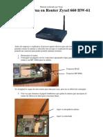 Guia Antena Externa Zyxel660