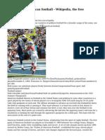 American football - Wikipedia, the free encyclopedia