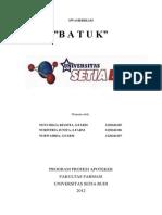 New Swamedikasi Batuk