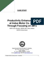 2058917 Lean Manufacturing 3M27s Case Study