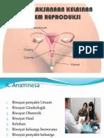 Penatalaksanaan Kelainan Sistem Reproduksi