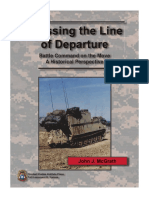 Crossing the Line of Departure - Battle Command on the Move; A Historical Perspective