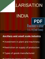Ancilarisation in India-JUNAID ALI