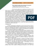Análise da Produção Científica Brasileira sobre Avaliação de Desempenho - 2009