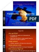 Prueba PISA 2006, análisis interno