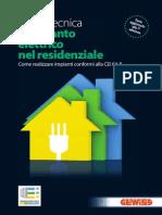 L'impianto elettrico nel residenziale-guida-tecnica
