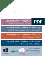 La Coordinación con las Comunidades