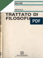 Gentile, Marino - Trattato Di Filosofia SCAN