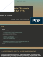 Méthodologie de l'étude de cas appliquée aux IFRS