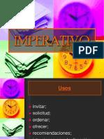 IMPERATIVO - español