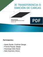 LOSA DE TRANSFERENCIA O TRANSMICIÓN DE CARGAS