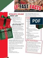 8. Holiday Wish List