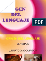 1.1 Origen Del Lenguaje- Anatomia