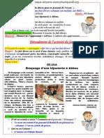 Compréhension de l'écrit P01 S02 3AM 2012-2013