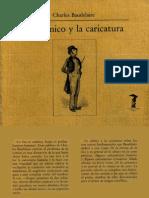 Lo-cómico-y-la-caricatura Baudelaire