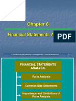 Ch 06 FinancialStatementAnalysis