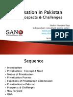 Privatization in Pakistan