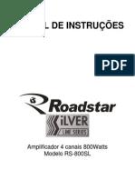 Modulo Roadstar Rs800