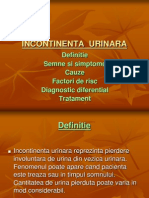 INCONTINENTA URINARA - 1