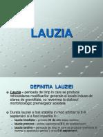 LAUZIA FIZIOLOGICA