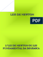 2 - PowerPoint 1.ª e 2.ª  Leis de Newton