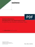 Enterprise Resilience Report