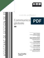 Communication Globale BTS - Livre Du Professeur