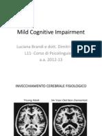 Mild Cognitive Impairment B B