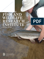 2013-2014 Programs of the Fish and Wildlife Research Institute