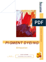 Pigment Dyeing - Exhausion