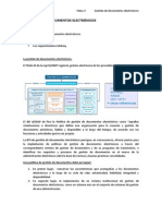 Gestión de Documentos Electrónicos