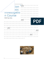 International Forensic Investigation Course